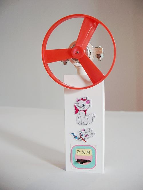 科技小制作小发明少年宫科普培训班器材儿童科学实验学具手提电扇