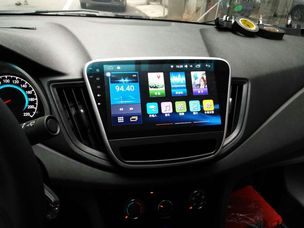 雪佛兰科沃兹专车专用GPS智能安卓大屏9寸一体机导航仪