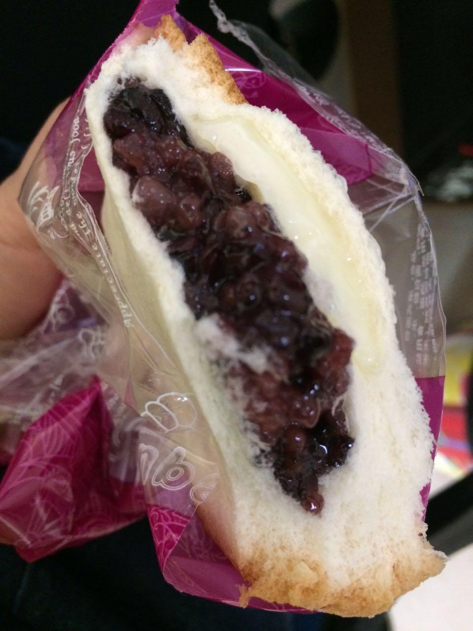 20个装紫米面包奶酪夹心面包 法式紫米面包沙拉吐司港式紫米面包