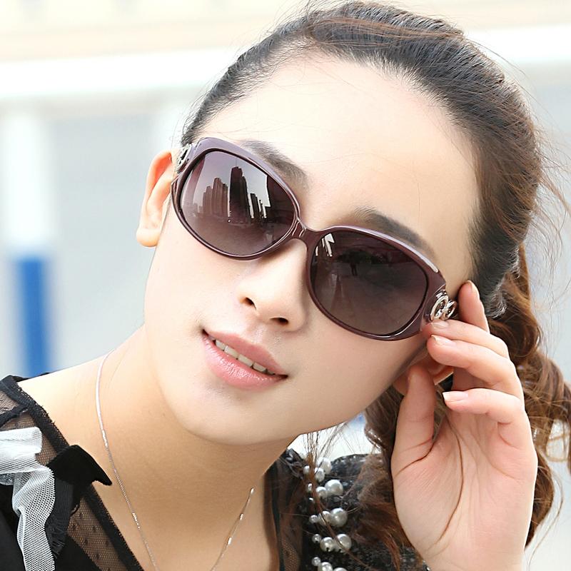 时尚2015新款简约女士偏光 太阳眼镜潮 复古明星优雅百搭墨镜日韩