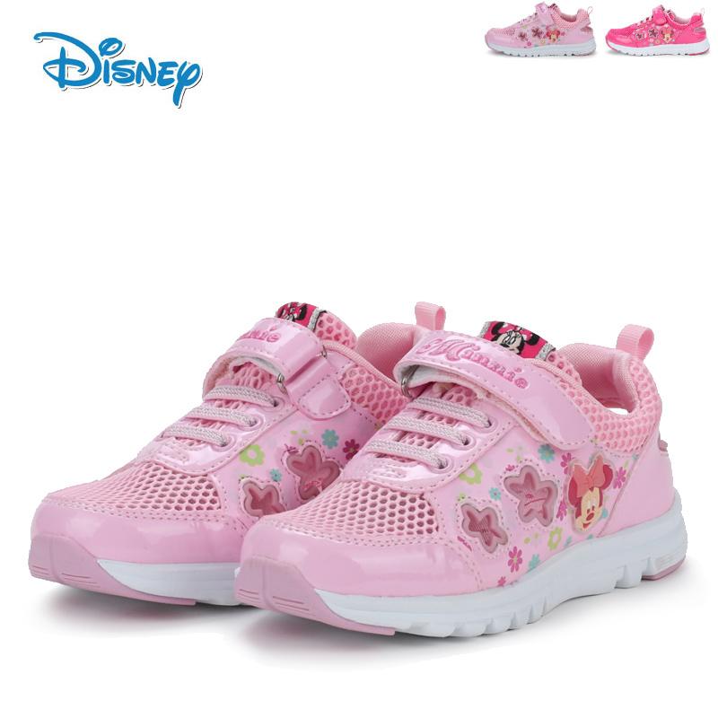 迪士尼童鞋春夏女童鞋超轻儿童鞋女孩鞋网眼鞋透气学生鞋运动鞋女