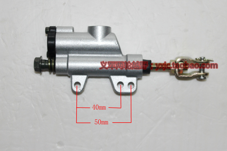 摩托车改装后碟刹越野车CQR后碟刹上泵总成 优质后刹车泵 一字泵
