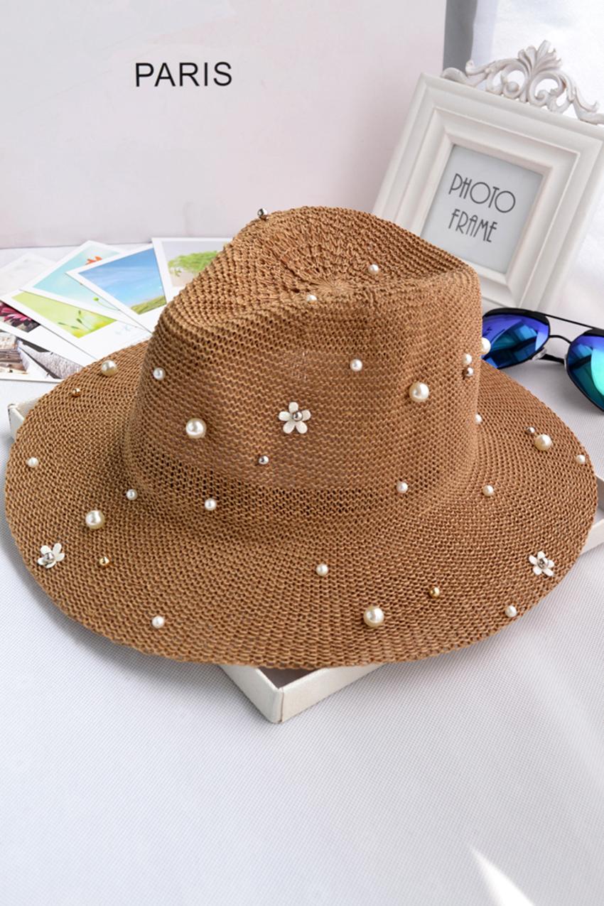 珍珠帽_裸婚时代童佳倩同款珍珠帽针织帽帽子图片裸