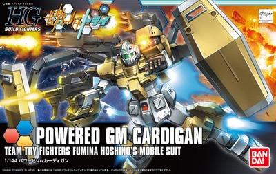 【雷殿】万代 HGBF 019 1/144 Powered GM 重装型 强力吉姆