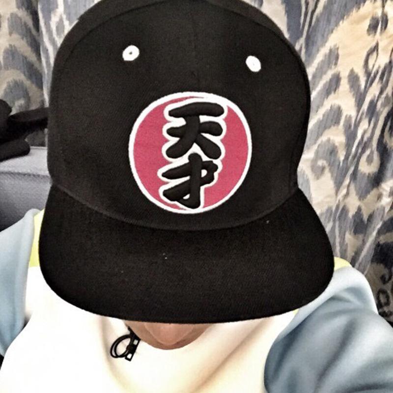 夏天韩版潮遮阳鸭舌帽同款棒球帽子跑男女士平沿帽嘻哈帽天才帽