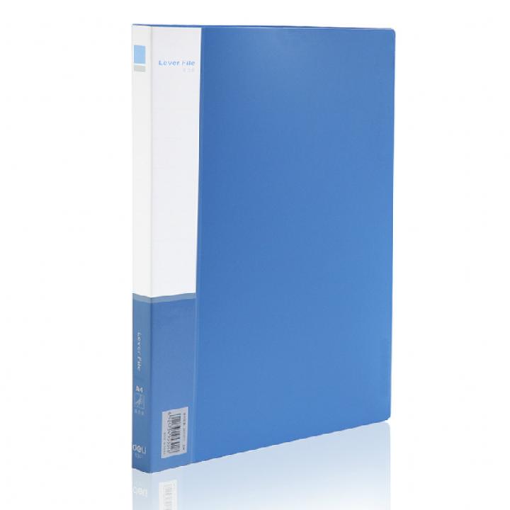 办公用品 得力5301 A4单夹插袋文件夹商务文件夹资料夹整理夹