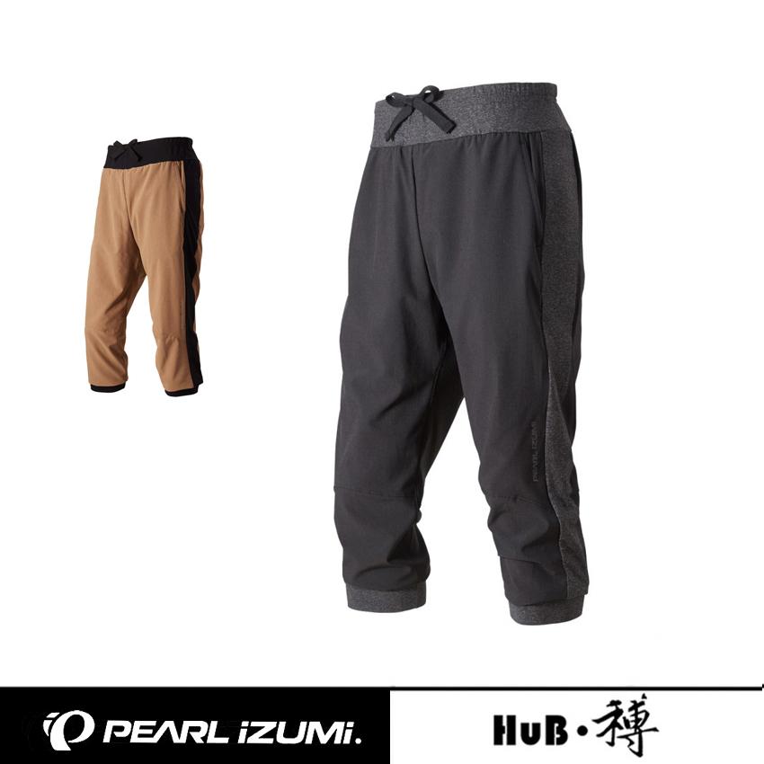 日本 PEARL IZUMI 一字米 248-3DNP 夏季男款 休闲骑行裤 七分裤
