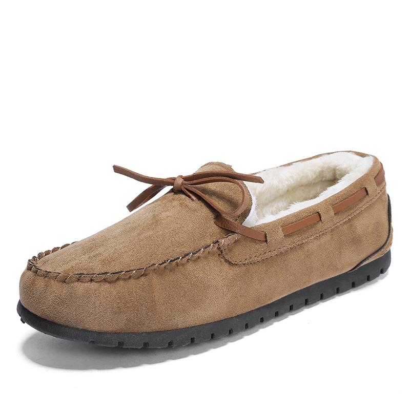 热销热卖豆豆鞋男士瓢鞋休闲鞋冬季韩版潮流潮鞋加绒保暖英伦懒人