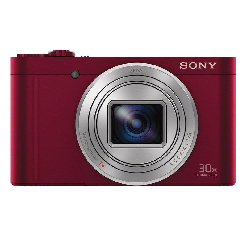 索尼/Sony DSC-WX500 便携数码相机/照相机/卡片机 红色 黑色