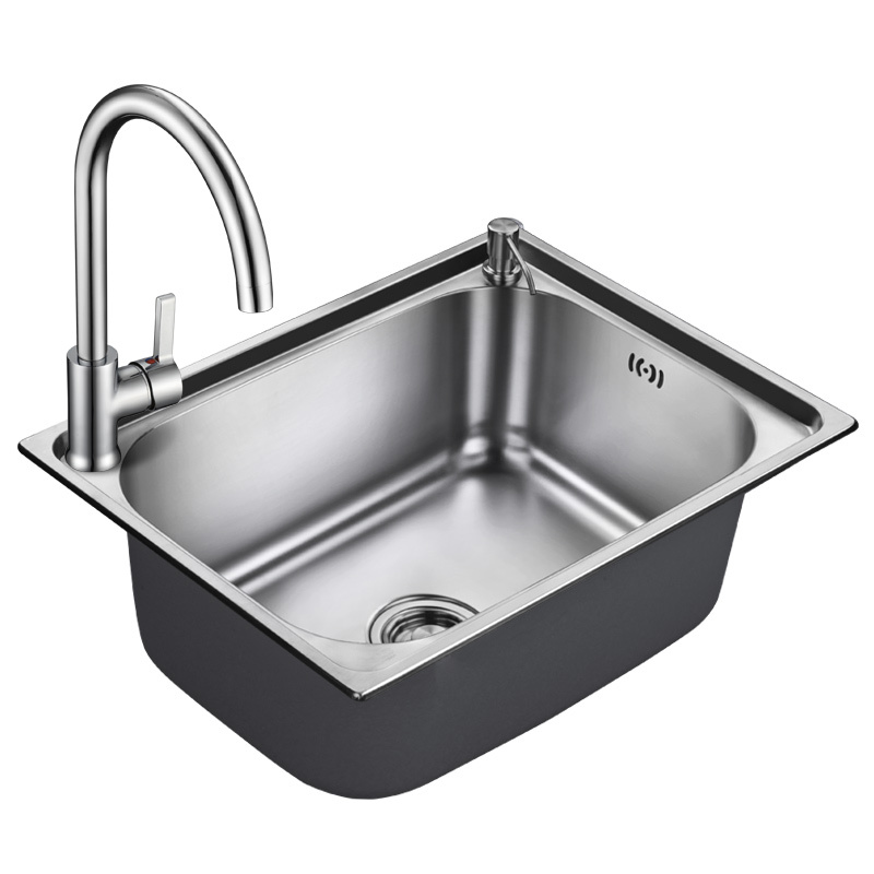 Exceptional Winton Sink Single Trough Kitchen 304 Stainless Steel Sink Single Trough  Sink Wash Dish Sink Balcony Laundry Trough
