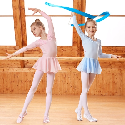 Children's ballet dress children's dance practice clothes girls tutu