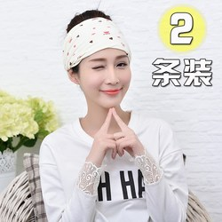 Summer fashion confinement turban spring thin confinement elastic hair band maternity hats postpartum confinement hats 2