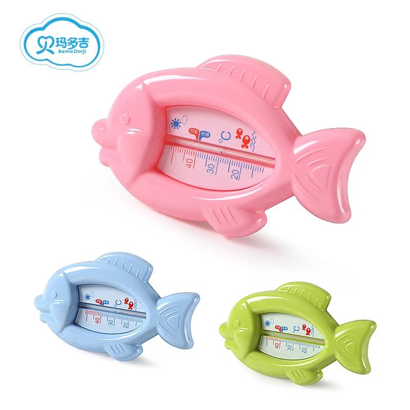 婴儿洗澡宝宝卡通水温计宝宝沐浴水温卡新生儿童室温计测水温家用