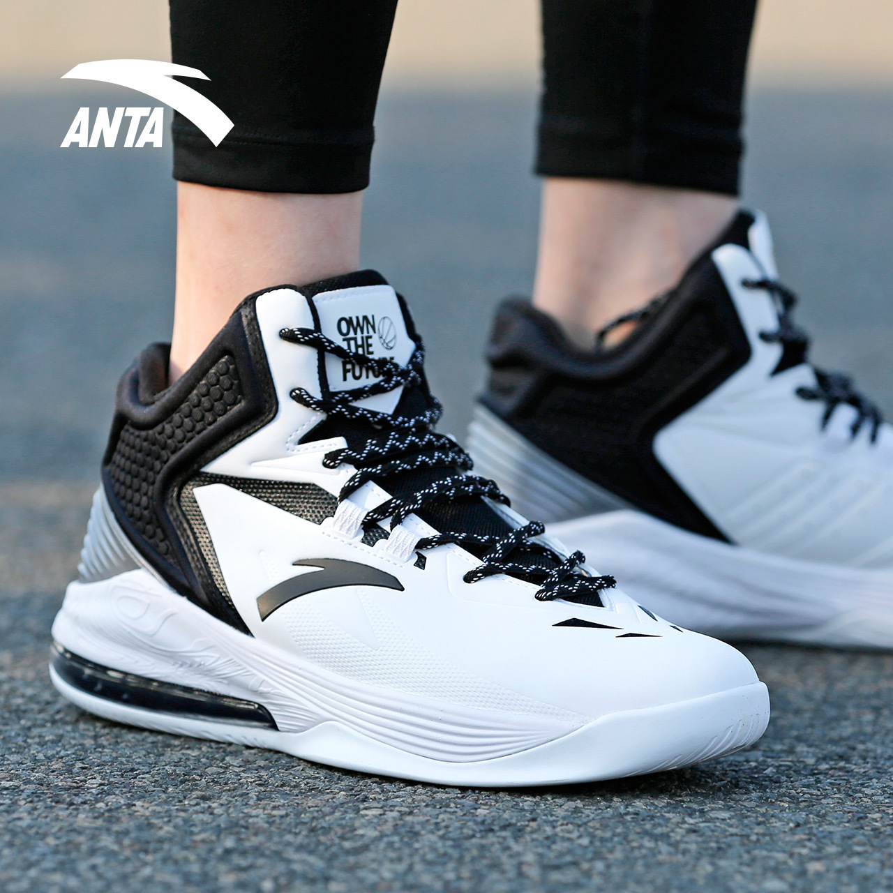 Anta Basketball Shoes Men S Shoes 2018 Winter New Air Cushion Shoes