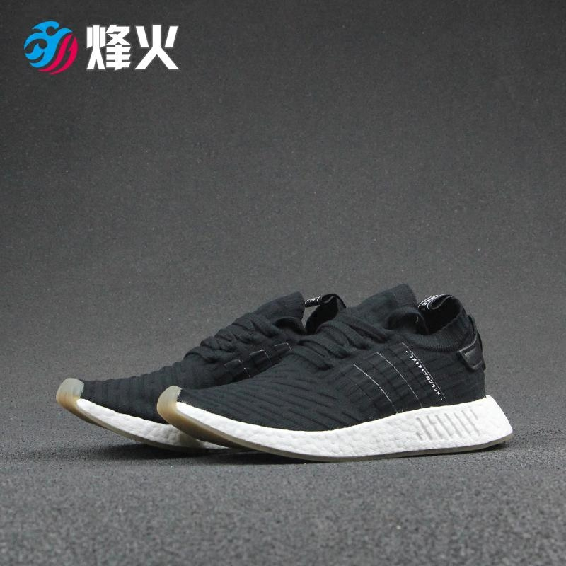 premium selection 0b374 dcea0 烽火体育Adidas NMD R2 BOOST PK 黑白日文跑鞋BY9696-SGshop