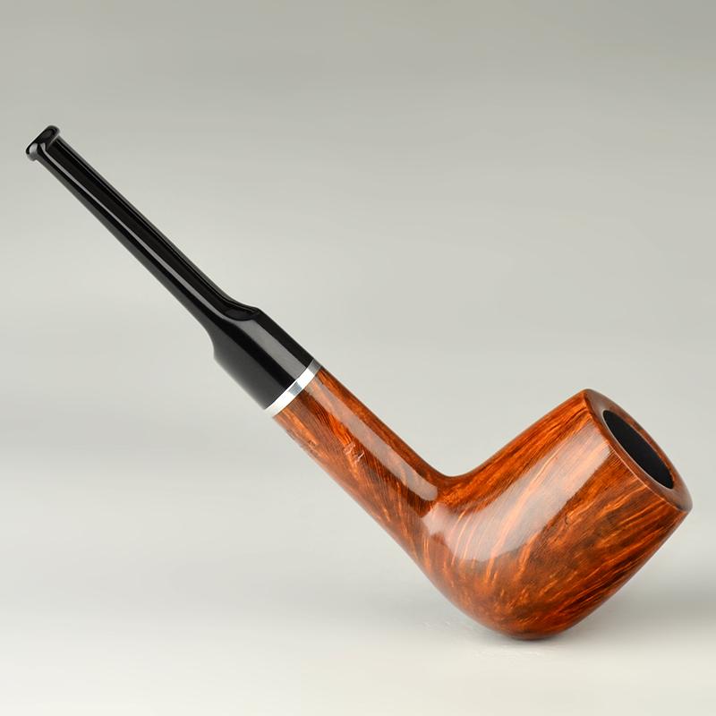 丹麦v楠木STANWELL史丹威石楠木琥珀直式光面烟斗系列54光