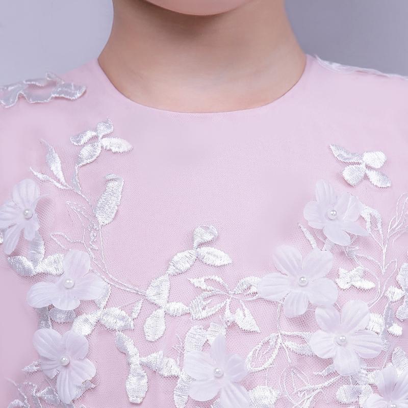 Дети Принимающая сторона платье принцессы платье цветочница платье дефиле одежды для девочек свадьба день рождения платье пачка платье