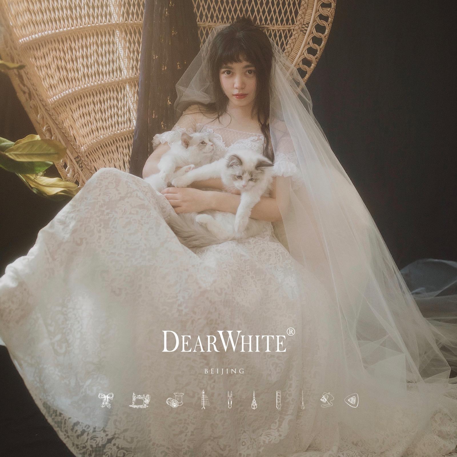 """Близко любовь уайт-плейнс создание подлинного """" долго поэзия «DearWhite свадьба департамент кружево перетащить хвост свадьба"""
