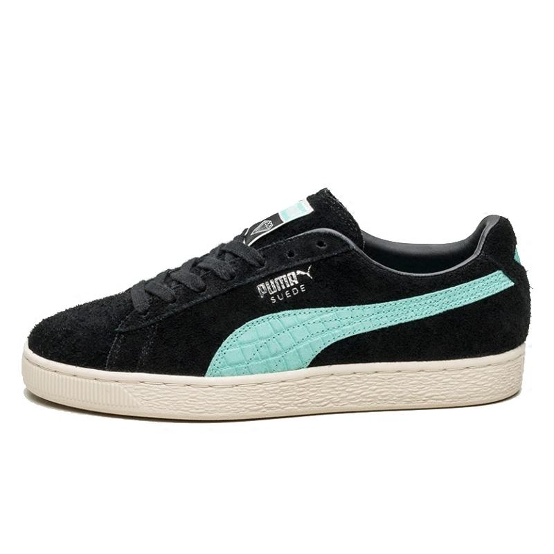 24038a2a502f ... PUMA Puma X Diamond Tiffany Diamond Joint Black and Purple Skateboard  Shoes 365650-01