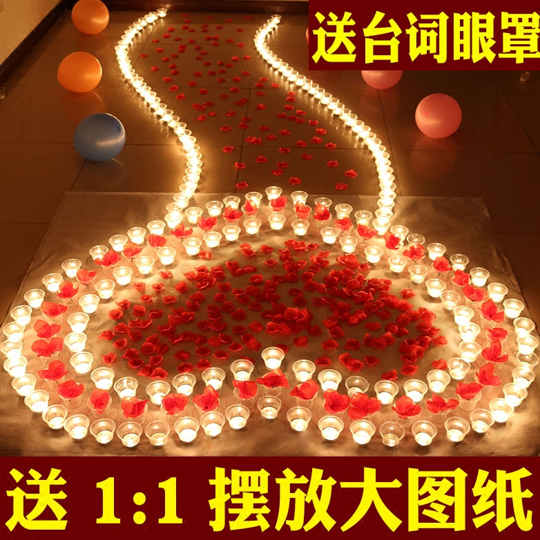 Usd 11 98 Candles Romantic Courtship Confession Birthday Artifact