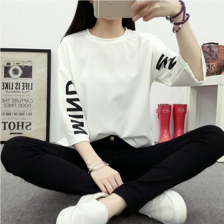 2016新款潮夏季韩版大码女装学生上衣中袖胖mm宽松短袖t恤女夏装