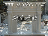 Flowers and white marble fireplace stone fireplace stone fireplace Quyang European sculpture portrait sculpture 11