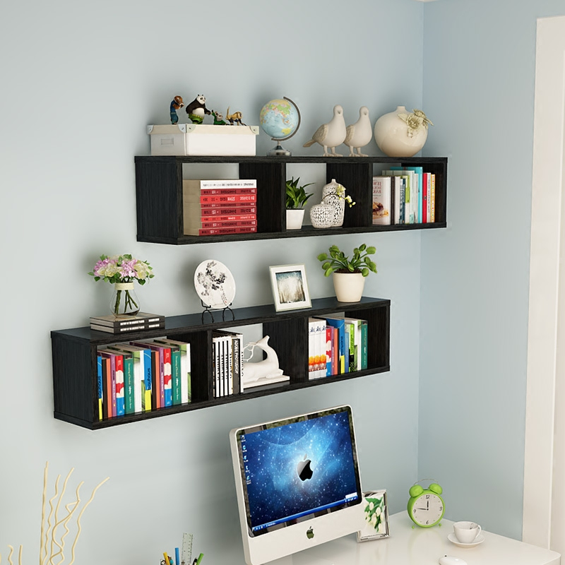 Living Room Shelves On Wall