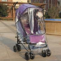На младенца Маленькая тележка зимний дождь накладка зимний детские Автомобиль ветрозащитный и непромокаемый накладка детские Дождевик зонтик универсальный лобовое стекло накладка