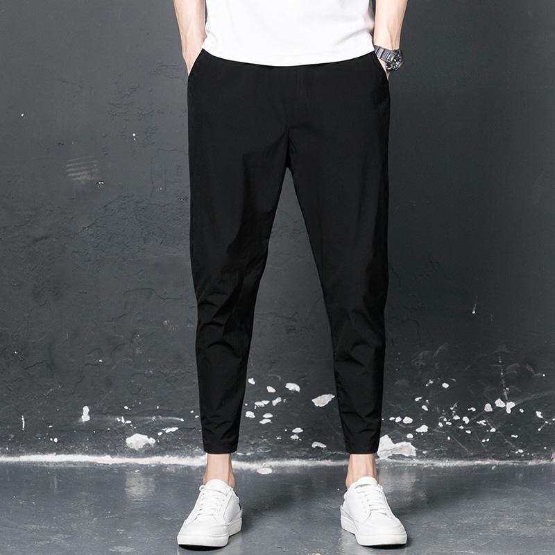 706a11d04d1e Nine pants loose autumn and winter feet harem pants casual plus velvet men s  Hong Kong pants fat was thin 9 pants