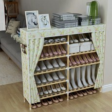 Multi-layer solid wood shoe rack shoe special dormitory door sub-assembly of simple economical storage of household dust artifact
