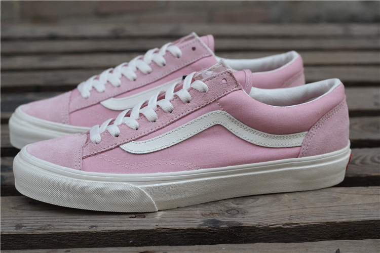 d09f5e739374 VANS STYLE 36 black high-end pink canvas white green shoes Asian limited  VN0A3DZ3RFQ  ...