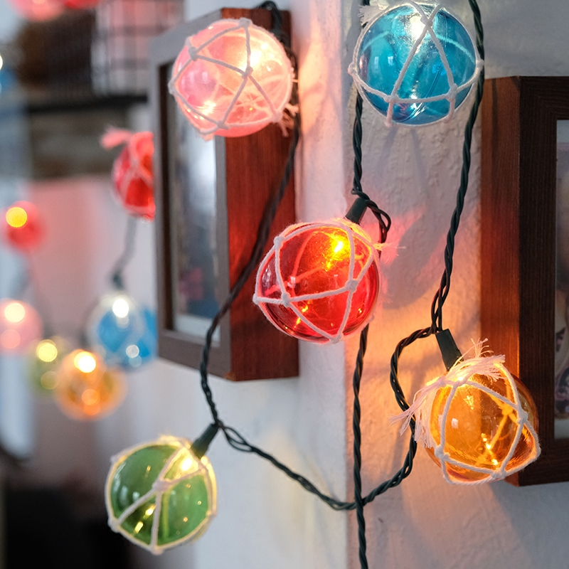 christmas lights string small lantern room decorative lights string net ball christmas tree gypsophila creative led