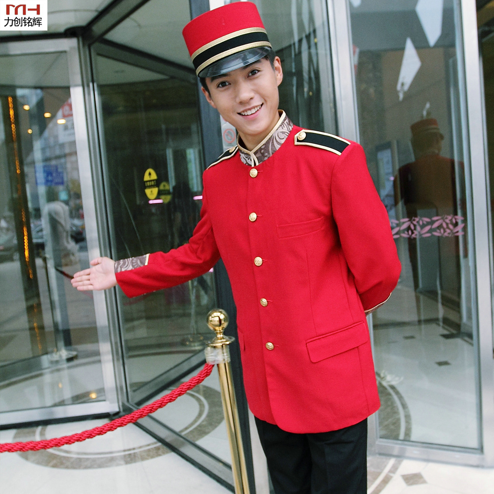 The hotel porter winter Welcome Hotel doorman uniforms ...