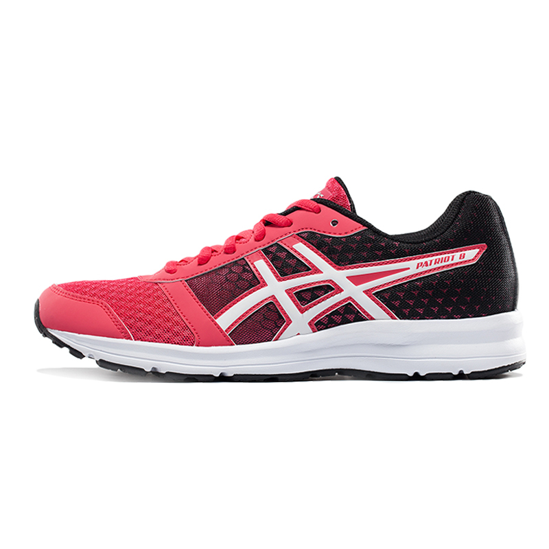 4a5e98badd7c ASICS Asser PATRIOT 8 entry cushioned jogging shoes Womens ...