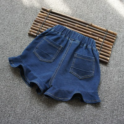 9e6b1a39a Girls denim shorts summer thin section 2019 new Korean version of ...