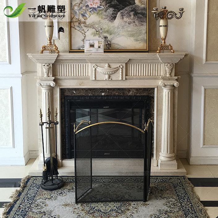 Usd 910 18 Marble European Carved Mantel Natural Stone Stone