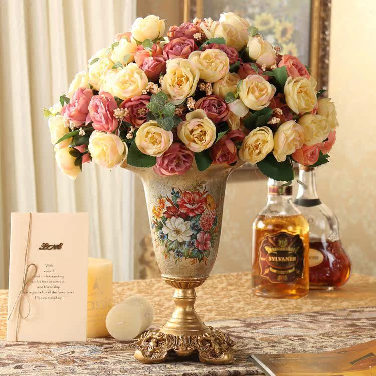 Цветочная ваза Zinc/art home
