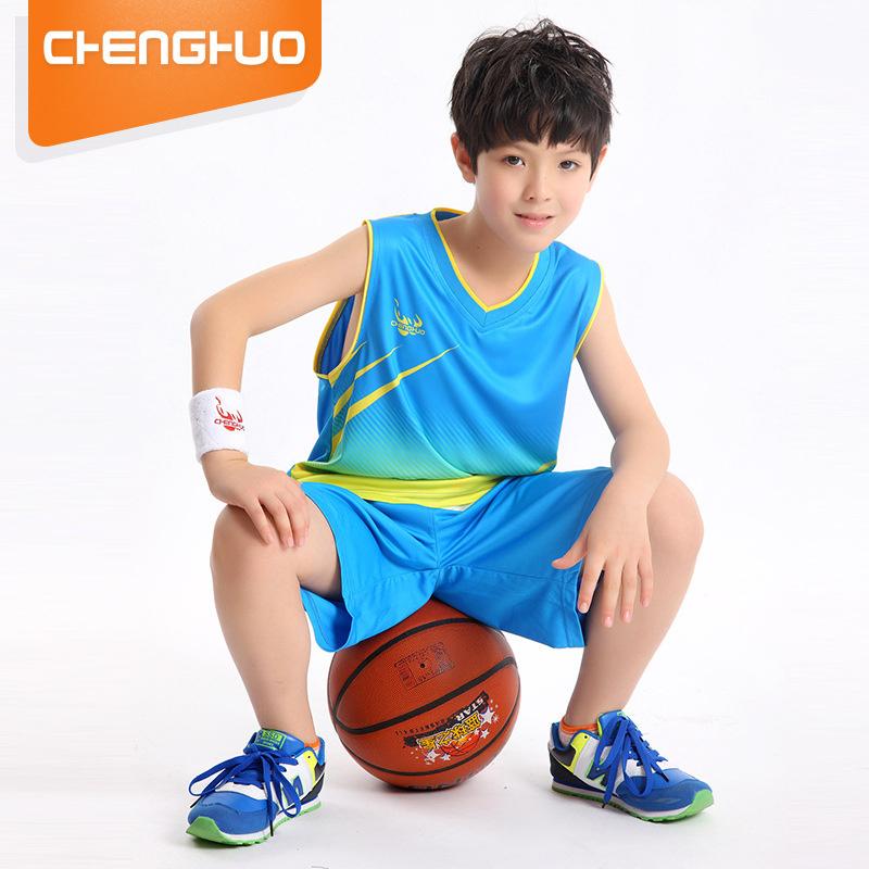 篮球服男士纯棉无袖衫背心短裤夏季薄款大码宽松跑步健身运动套装
