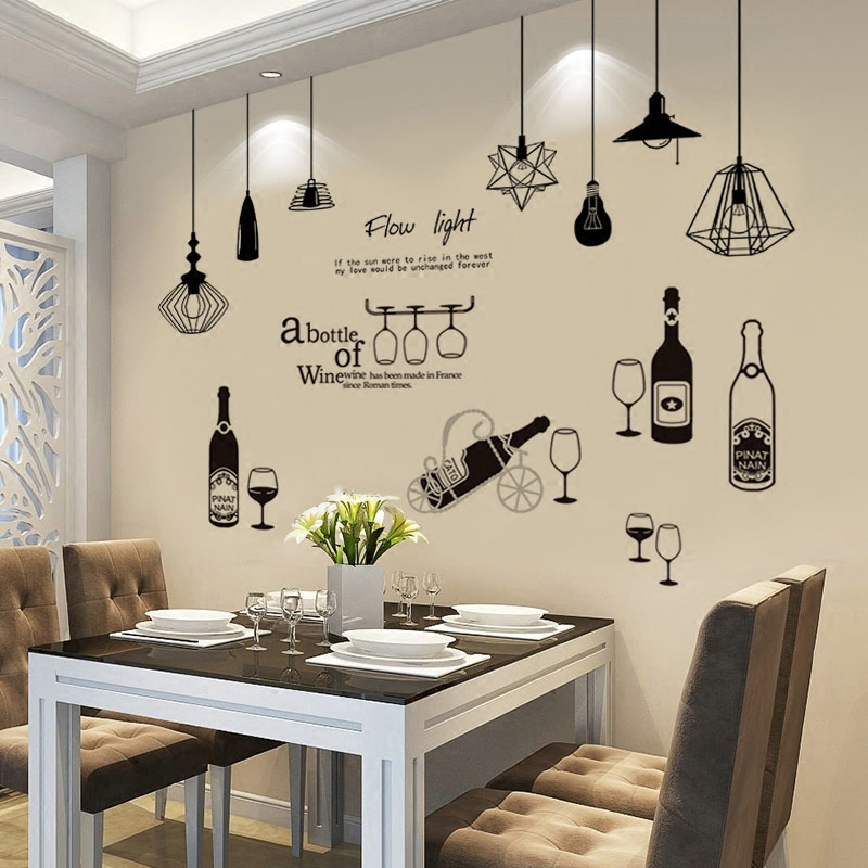 Usd 833 Bedroom Warm Bedside Creative Wall Sticker Restaurant Wall