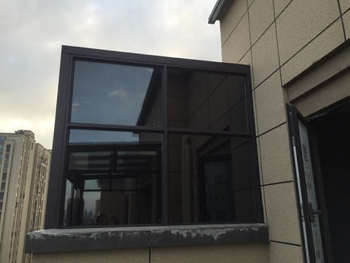 玻璃贴膜遮光隔热防晒不透光