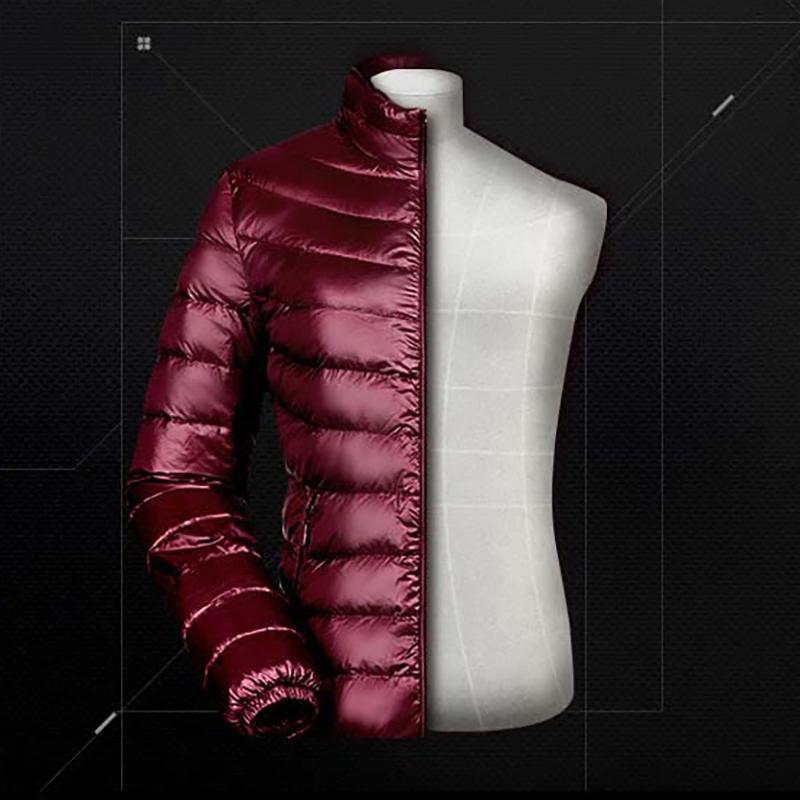 d943a8044a1e7 Bosideng тонкий пуховик мужской короткий осень-зима сезон куртка модные  2018 новая коллекция мужской Легкий и тонкий стиль