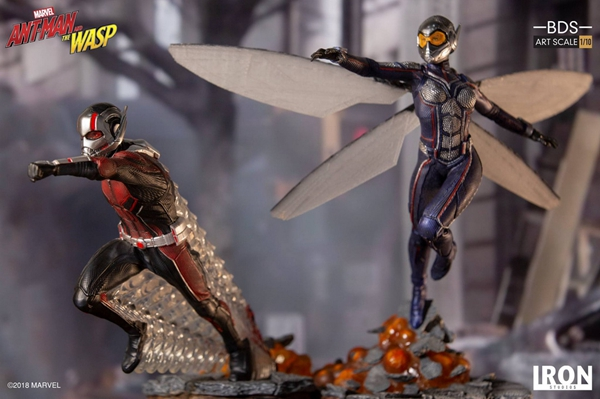 Collectibles Ant-Man Collectible Statue 1:10 By Iron Studios