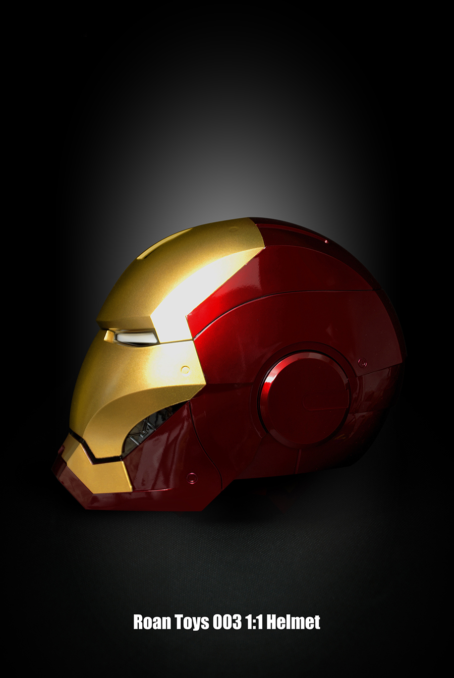Roan Mk7 3 Cattoys Mk42 Iron Man Helmet 11 Induction Electric Luggage Tag Ironman Head State Of Sale Spot