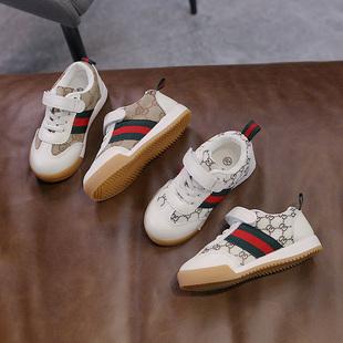 儿童休闲板鞋2021春季新款洋气童鞋儿童春款男童运动鞋潮女童鞋子