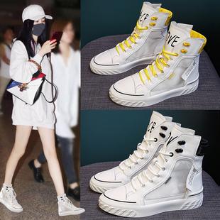 马丁靴女鞋2021新款靴子夏季薄款百搭短靴夏天透气网纱春秋季高帮