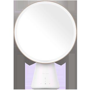 天猫精灵QUEEN智能语音美妆镜化妆镜台式LED灯梳妆镜