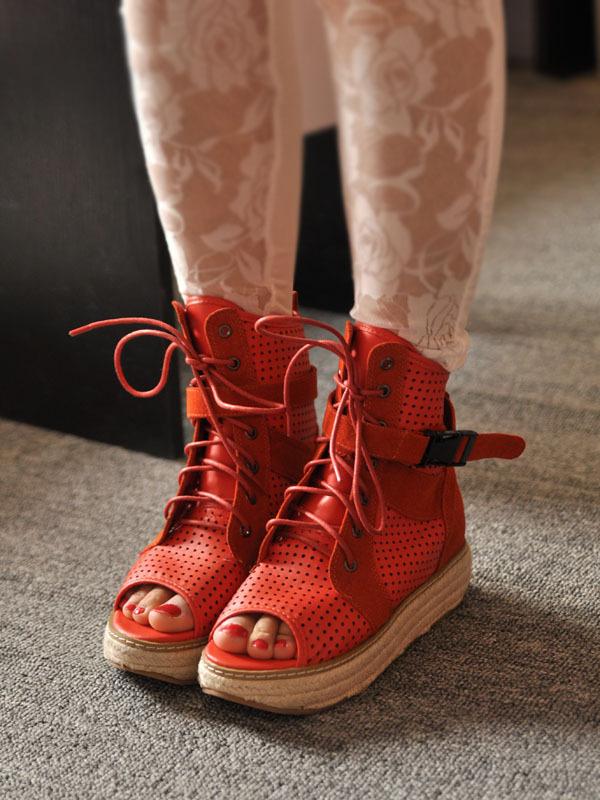 秋季鞋子女装如何搭配(2)