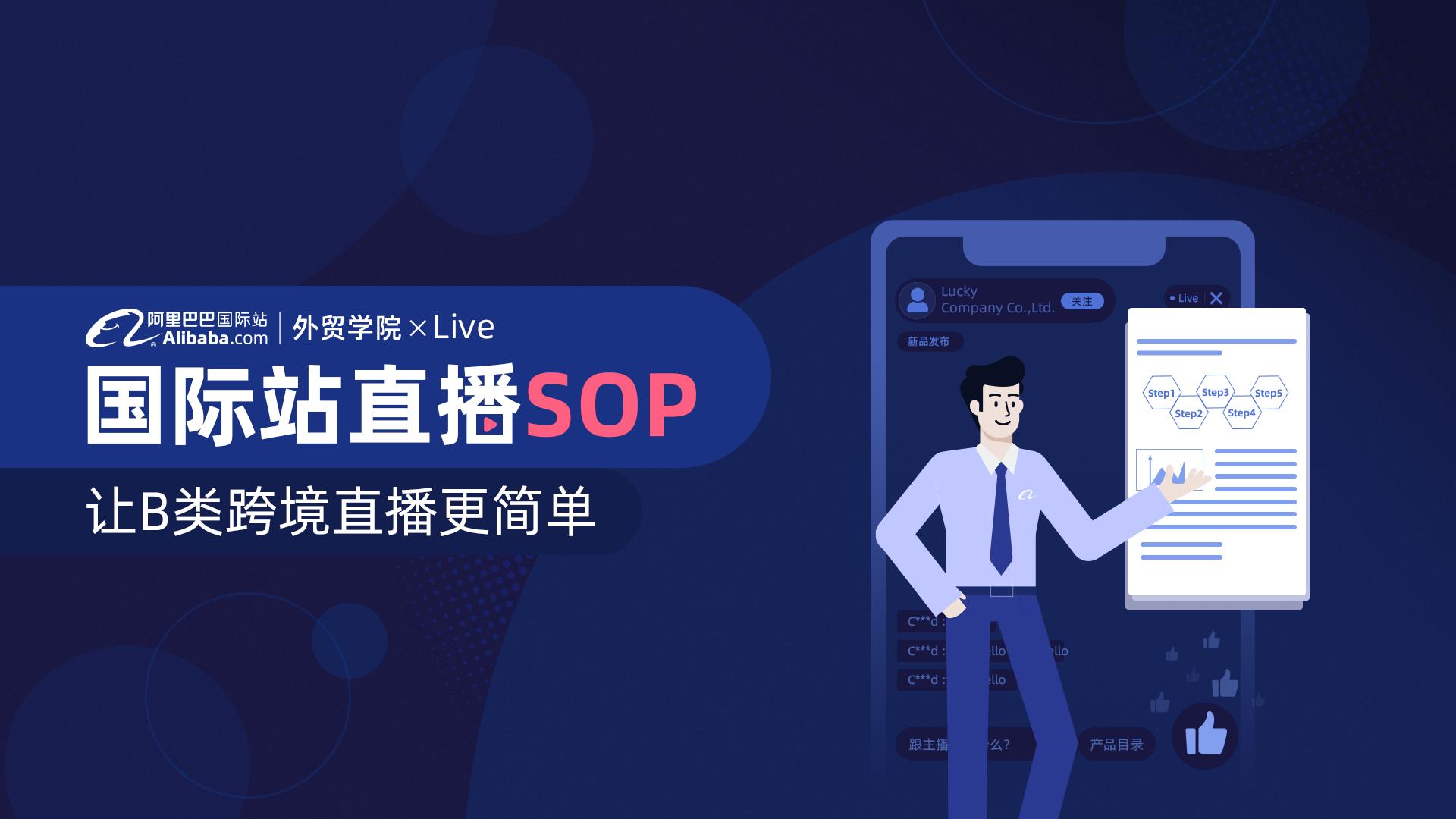 国际站直播SOP
