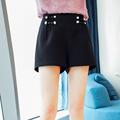 定制蓝语大码女装胖mm2018新款韩版夏装宽?#19978;?#30246;短裤胖妹妹裤子女