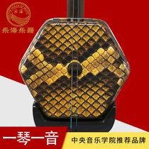 新款726乐海黑檀二胡乐器蟒皮胡琴二胡乐器表演考级演奏二胡
